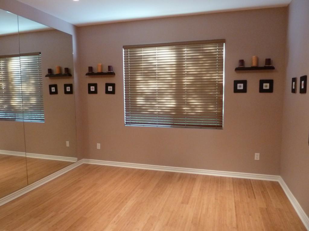 view 2 of private yoga studio